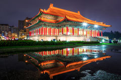 Chiang kai-shek memorial hall in Taipei, Taiwan. Stock Photos