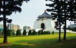 Chiang Kai-Shek Memorial Hall stock image