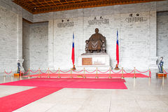 Chiang Kai-Shek Memorial Hall in Taipei Stock Images