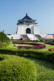Chiang Kai-shek Memorial Hall in Taipei - Taiwan. Royalty Free Stock Photos