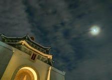Chiang Kai-shek Memorial Hall, Taipei, Tajwan zdjęcia royalty free