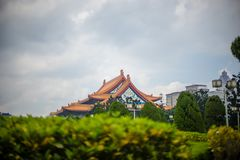 Chiang kai shek. Memorial hall in taiwan royalty free stock photo