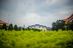 Chiang kai shek. Memorial hall in taiwan stock image