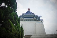 Chiang kai shek. Memorial hall in taiwan stock images