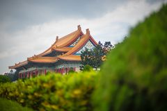 Chiang kai shek. Memorial hall in taiwan royalty free stock photo