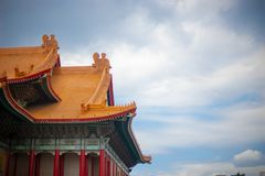 Chiang kai shek. Memorial hall in taiwan royalty free stock photography