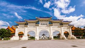 Chiang Kai-shek Memorial Hall, Taiwan stock footage