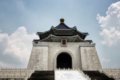 The Chiang kai-shek memorial hall in taiwan stock photo