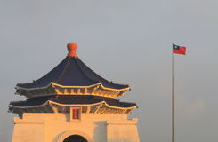Chiang Kai Shek Memorial-Halle Taipeh-Demokratie Memorial Park Taiwan Stockbild