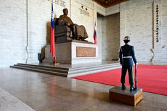 Chiang-Kai Shek Memorial Royalty Free Stock Images
