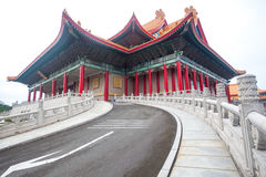 Chiang Kai shek memory hall in Taipei city Royalty Free Stock Image