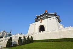 Chiang kai-shek minnes- korridor i taiwan royaltyfri fotografi