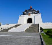 Chiang Kai-shek minnesmärkekorridor arkivbild