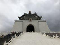Chiang Kai Shek pamiątkowa sala sławny punkt zwrotny w Taiwan obraz royalty free