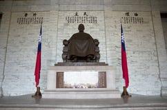 Chiang Kai Shek Statue Arkivfoton