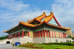 Chiang Kaishek Memorial Hall i tapeien taiwan Fotografering för Bildbyråer