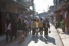 Chiang Khan, Loei, Таиланд Стоковое Изображение RF