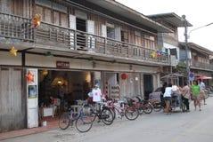 Chiang Khan, Loei, Tailandia Imagenes de archivo