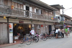 Chiang Khan, Loei, Thailand Stock Afbeeldingen