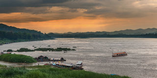 Chiang Khan, Loei, Royalty Free Stock Photography