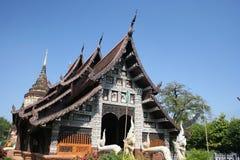 chiang lok mai molee泰国wat 免版税库存照片