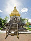 Chiang Mai人寺庙泰国wat 库存图片
