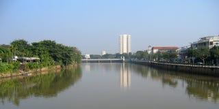 Chiang Mai场面都市的泰国 图库摄影