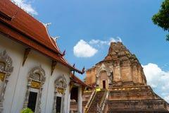 Chiang Mai寺庙 免版税图库摄影