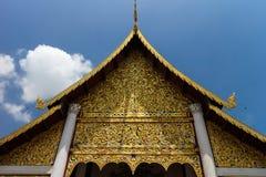 Chiang Mai寺庙 免版税库存照片