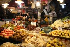 Chiang Mai市场晚上泰国 免版税库存图片