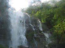 Chiang Mai泰国vachiratharn瀑布 免版税库存图片