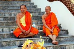 Chiang Mai, TH : Wat配音的Phai修士 库存图片