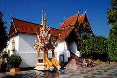 Chiang Mai, TH : Wat Doi Suthep 库存图片