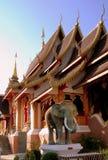 Chiang Mai, Th : Wat Saennuang 免版税库存照片