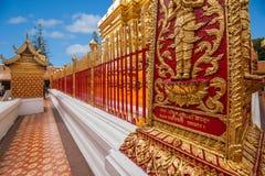 Chiang Mai, κατασκευή της Ταϊλάνδης Suthep Doi Suthep Στοκ Εικόνες