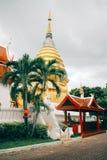 chiang mai ναός Στοκ φωτογραφία με δικαίωμα ελεύθερης χρήσης