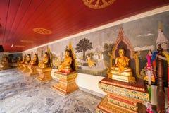 Chiang Mai, στοά Βούδας της Ταϊλάνδης Suthep Doi Suthep Στοκ Φωτογραφίες