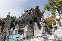CHIANG MAI, ΤΑΪΛΆΝΔΗ - 17 ΙΑΝΟΥΑΡΊΟΥ: Όμορφος ναός (Wat Sri Suphan) Στοκ Εικόνες