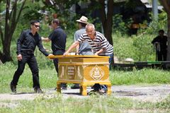 CHIANG MAI, ΤΑΪΛΆΝΔΗ - 19 ΜΑΐΟΥ: Μη αναγνωρισμένη συμμετοχή ανθρώπων Στοκ εικόνες με δικαίωμα ελεύθερης χρήσης