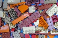 chiang mai, ΤΑΪΛΆΝΔΗ - 27 Μαΐου 2018: Το Lego είναι μια γραμμή του πλαστικού γ Στοκ Εικόνες