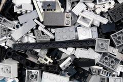 chiang mai, ΤΑΪΛΆΝΔΗ - 27 Μαΐου 2018: Το Lego είναι μια γραμμή του πλαστικού γ Στοκ Φωτογραφία