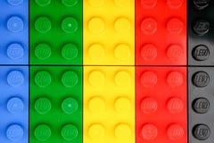 chiang mai, ΤΑΪΛΆΝΔΗ - 27 Μαΐου 2018: Το Lego είναι μια γραμμή του πλαστικού γ Στοκ φωτογραφία με δικαίωμα ελεύθερης χρήσης