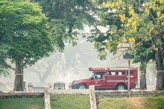 Οι μολυσμένοι ουρανοί πέρα από Chiang Mai στοκ φωτογραφία με δικαίωμα ελεύθερης χρήσης