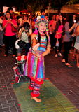 Chiang Mai, Ταϊλάνδη: Νέος χορευτής γυναικών στοκ εικόνα