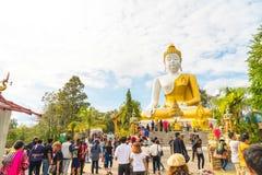 Chiang Mai, Ταϊλάνδη, την 1η Ιανουαρίου 2018: Τουρίστας που ταξιδεύει σε Wat Phr Στοκ φωτογραφίες με δικαίωμα ελεύθερης χρήσης