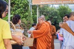 Chiang Mai ΤΑΪΛΑΝΔΗ - 10 Ιουνίου: Ο πολιτισμός της Ταϊλάνδης Philant Στοκ φωτογραφίες με δικαίωμα ελεύθερης χρήσης