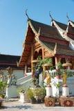 Chiang Mai, Ταϊλάνδη - 15 Φεβρουαρίου 2015: Ναός της Hong Phoung ένα famou Στοκ φωτογραφίες με δικαίωμα ελεύθερης χρήσης