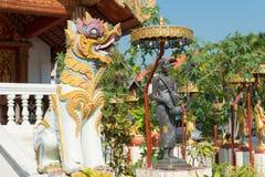 Chiang Mai, Ταϊλάνδη - 15 Φεβρουαρίου 2015: Ναός της Hong Phoung ένα famou Στοκ Φωτογραφία