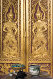 Chiang Mai, Ταϊλάνδη - 13 Φεβρουαρίου 2015: Wat Chai Sri Phum ένας διάσημος Στοκ φωτογραφία με δικαίωμα ελεύθερης χρήσης