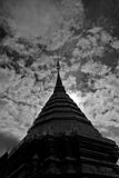 Chiang Mai 10. Temple Mountain in Chiang Mai, North Thailand Royalty Free Stock Image